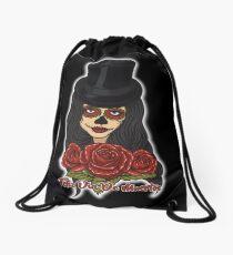 TopHat La Catrina - Dia De Los Muertos Drawstring Bag