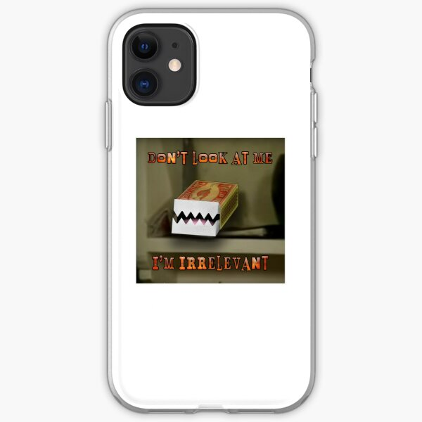 The Young Ones Irrelevant Matchbox iPhone Soft Case