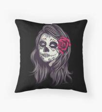 La Catrina - Dia De Los Muertos Throw Pillow