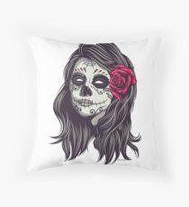 La Catrina - Dia De Los Muertos Floor Pillow