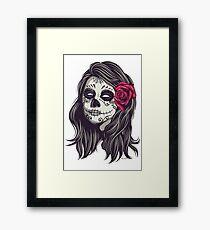 La Catrina - Dia De Los Muertos Framed Print
