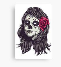 La Catrina - Dia De Los Muertos Canvas Print