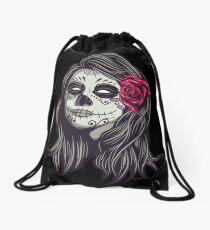 La Catrina - Dia De Los Muertos Drawstring Bag