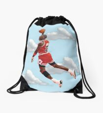 Jordan Polygon Art Drawstring Bag
