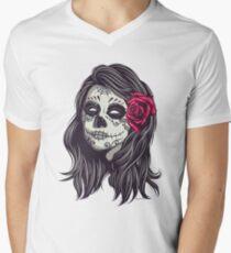 La Catrina - Dia De Los Muertos Men's V-Neck T-Shirt