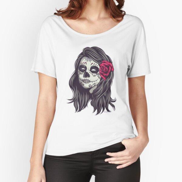 La Catrina - Dia De Los Muertos Relaxed Fit T-Shirt
