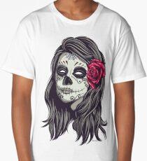 La Catrina - Dia De Los Muertos Long T-Shirt