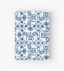 Delft Blue Tulips Hardcover Journal