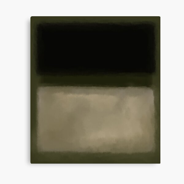 Rothko Inspired #5 Canvas Print