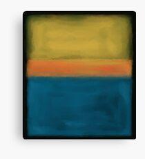 Rothko inspiriert # 3 Leinwanddruck
