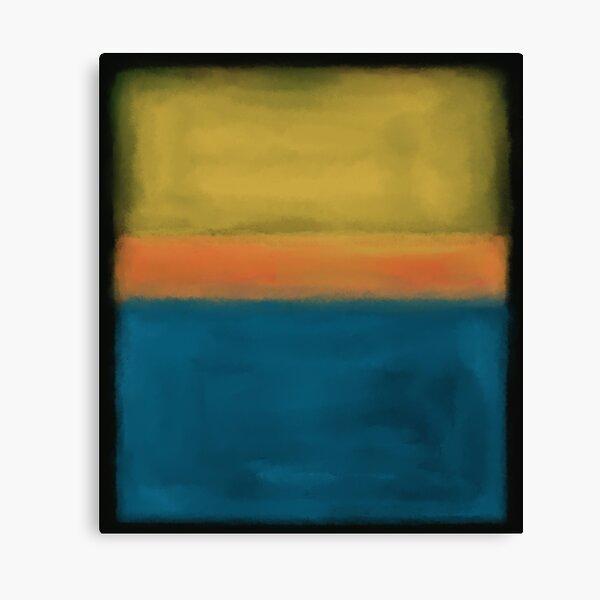 Rothko Inspired #3 Canvas Print