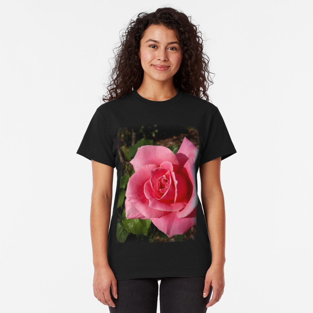 """""""Bewitched"""" Rose from my garden Classic T-Shirt"""