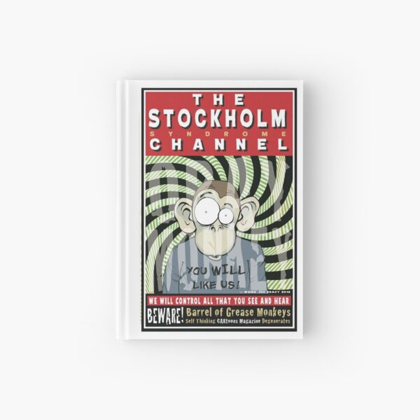 Stockholm Syndrome Channel Monkey Hardcover Journal