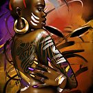 Bald headed Goddess by timzartwork