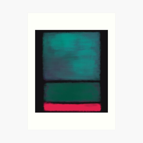 Rothko Inspired #8 Art Print