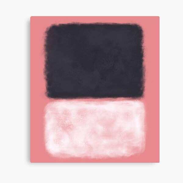 Rothko Inspired #9 Canvas Print