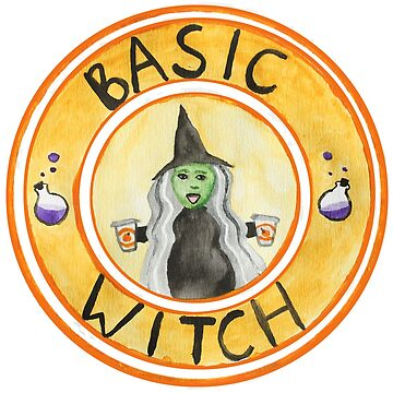 Basic Witch Halloween Pumpkin Spice Latte by GamerCrafting