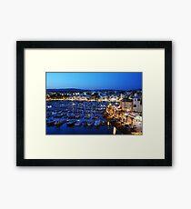 Vilamoura at Sundown Framed Print