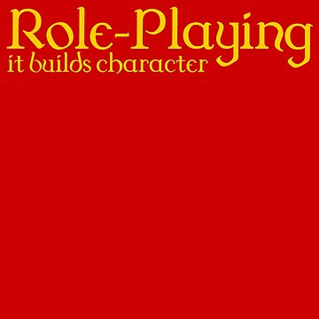d20 Role-Playing Builds Character by heathendesigns