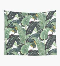 Bananenblatt-Muster Wandbehang