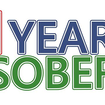 One Year Sober by hamsters