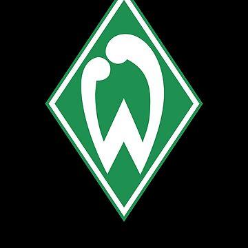 SV Werder Bremen Fußball Fussball Football by cl0thespin