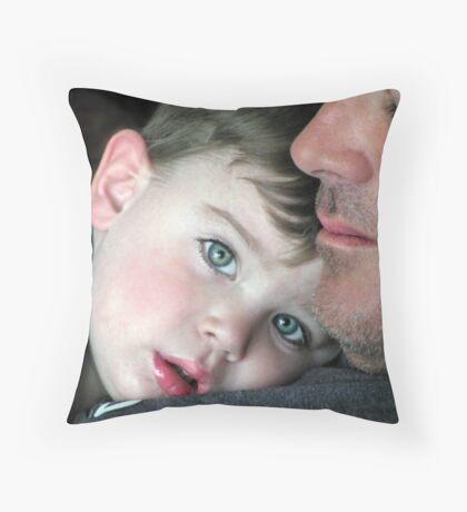 Proud Daddy.... Throw Pillow