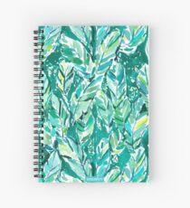 BANANA LEAF JUNGLE Spiral Notebook