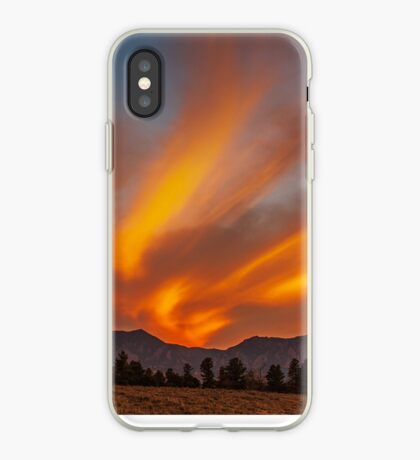 Sunset Rivers iPhone Case