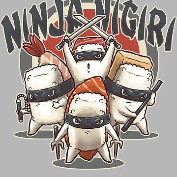 Ninja Nigiri by andresMvalle