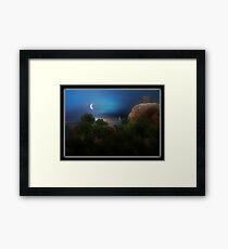 ©The Coastal Brocoli I-A Framed Print