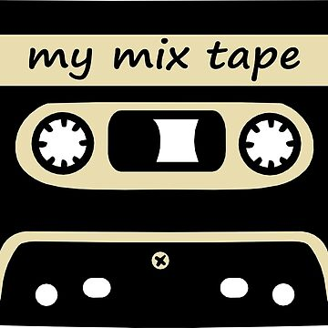 Mix Tape- Cassette Retro by sweetsixty