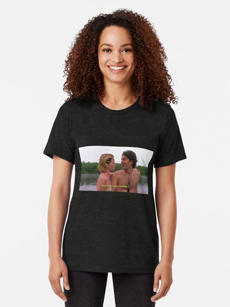 Alternative Ansicht von nasse heiße amerikanische zusammenfassung - du schmeckst wie ein burger Vintage T-Shirt