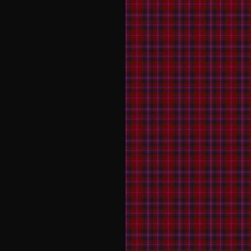 Tartan punk red and black by YlliaXiloscient
