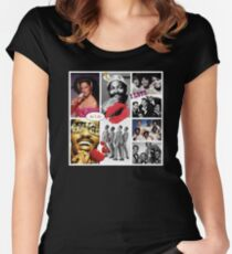 Motown Music Women's Fitted Scoop T-Shirt