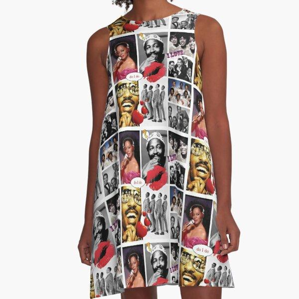 Motown Music A-Line Dress
