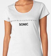 Sonic Theme Women's Premium T-Shirt