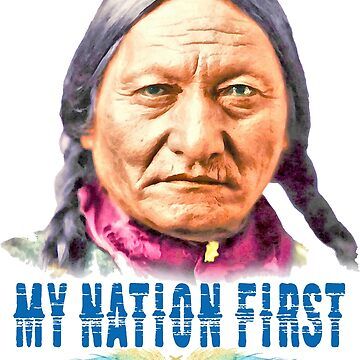 Sitting Bull by MohsArt