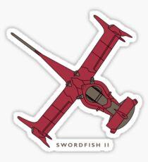 Cowboy Bebop - Swordfish II Sticker