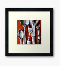 Sterling Cutlery  II Framed Print