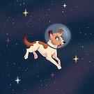 Laika der Weltraumhund von sophieeves90