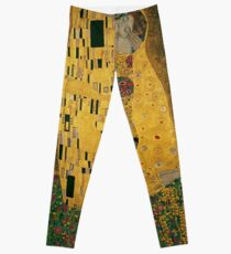 Art Nouveau,Gustav Klimt, The Kiss, 1907-1908 Leggings