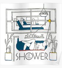 Homeshake - In der Dusche Poster