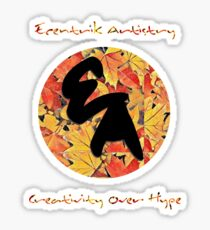"""Colors Of Autumn"" Sticker"