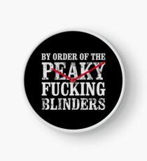 By Order of The Peaky Blinders Peaky Blinders T Shirt Clock