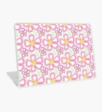 Brush stroke flowers Laptop Skin