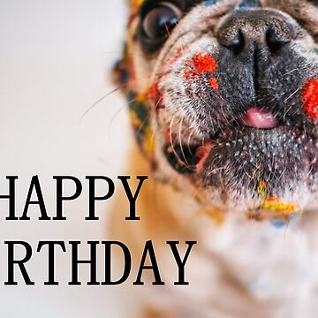 french bulldog happy birthday by marasdaughter