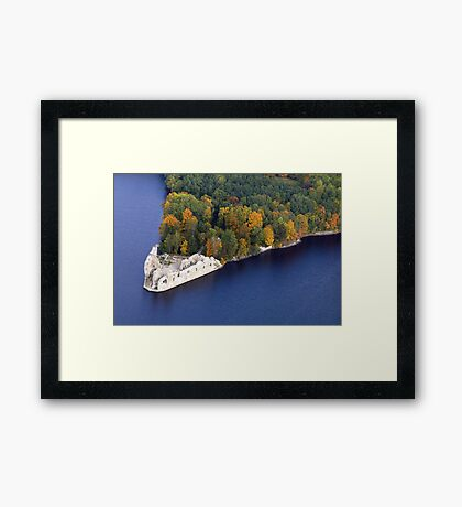 Old Castle (The Baltic states) Framed Print