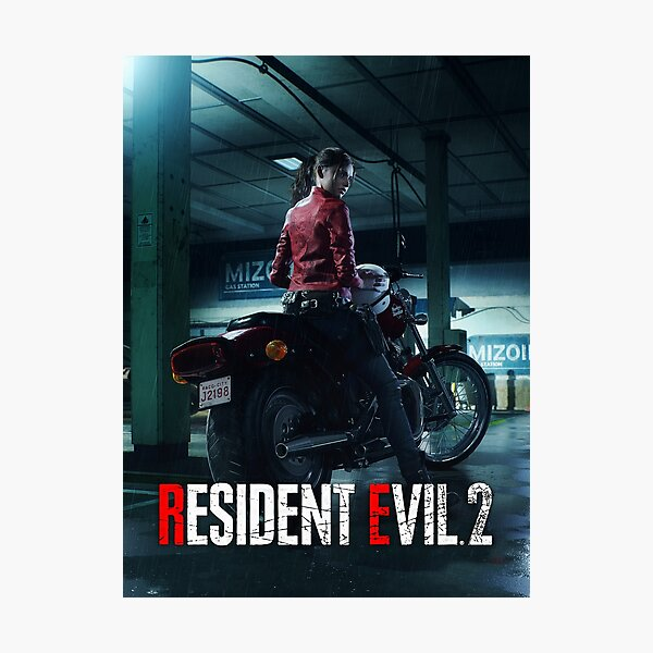 RESIDENT EVIL 2 REMAKE - CLAIRE Photographic Print