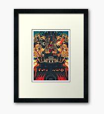 Doof Warrior Framed Print